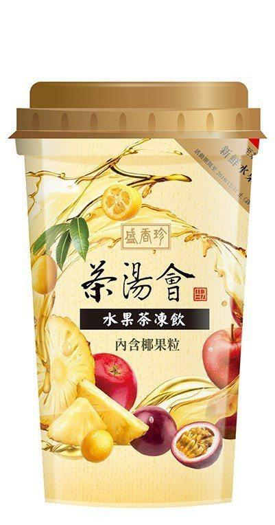 茶湯會水果茶凍飲,售價32元,7-ELEVEN獨家販售,即日起至6月4日第2件6...