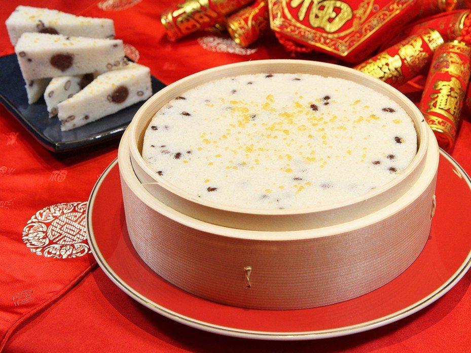「點水樓」赤豆鬆糕。圖/易遊網提供