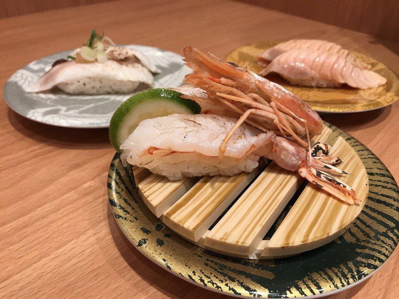 合點壽司。記者江佩君/攝影