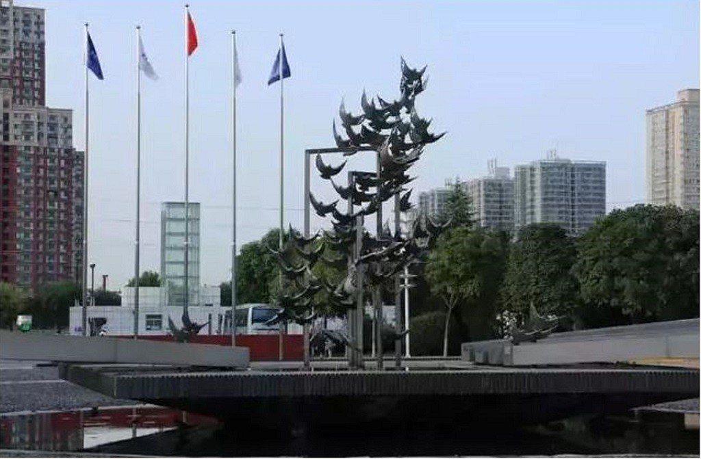 西安郵電大學「煮熟的鴨子飛了」。圖/取自人民日報社旗下微信公眾號國家人文歷史