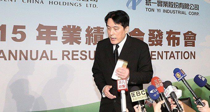 統一集團董事長羅智先。 本報系資料庫