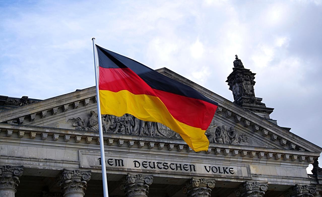 德國國旗。圖/pexels