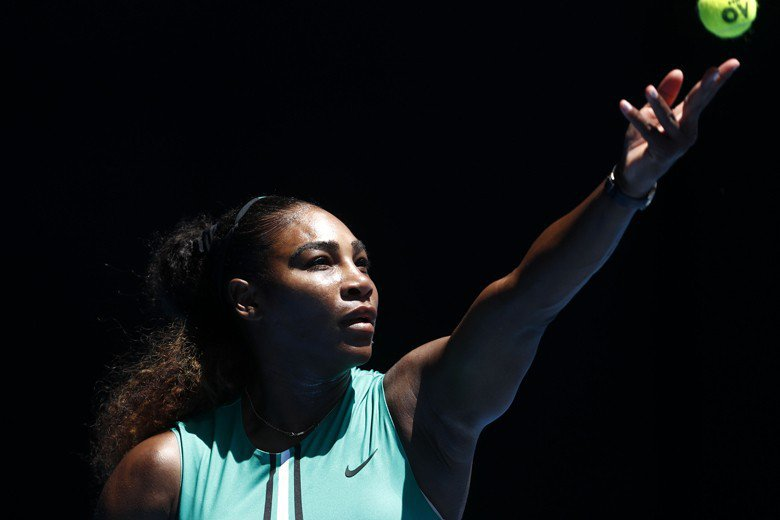 世界女子網球巨星小威廉絲。 圖/路透社