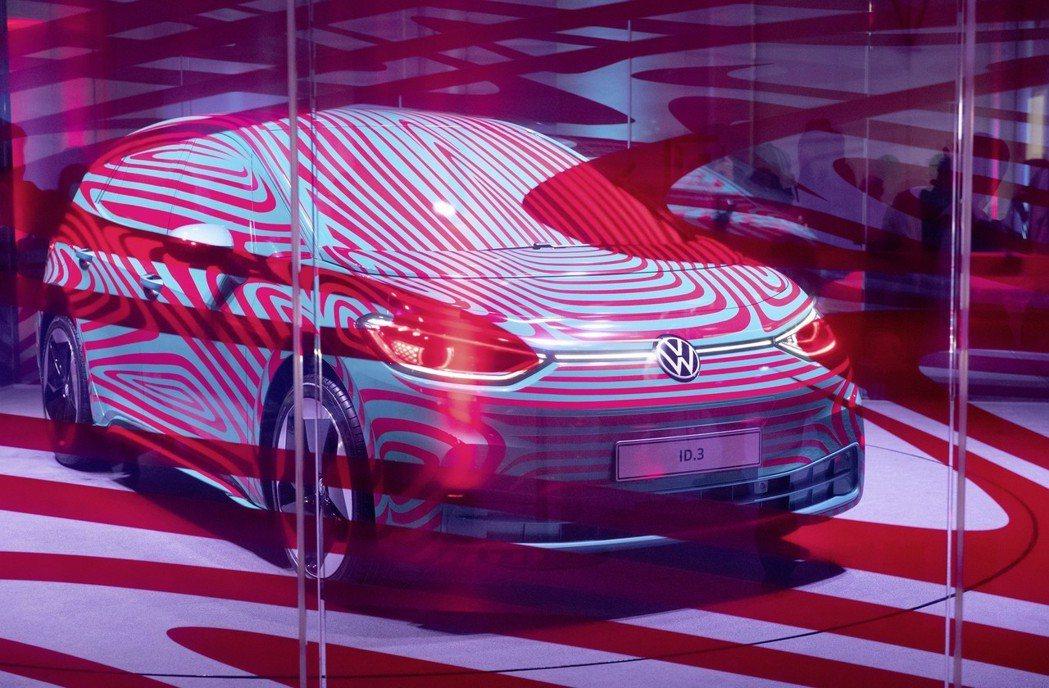 全新Volkswagen ID.3純電掀背車。 摘自Volkswagen