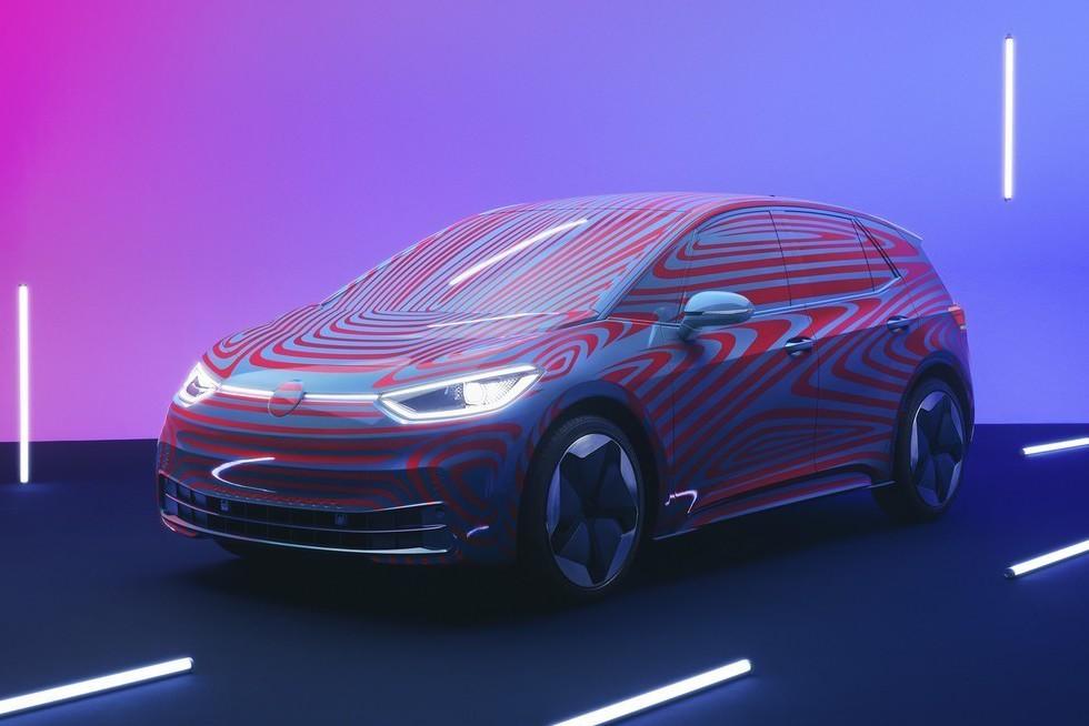 售價與Golf相近 全新Volkswagen ID.3純電掀背車預售正式開跑!