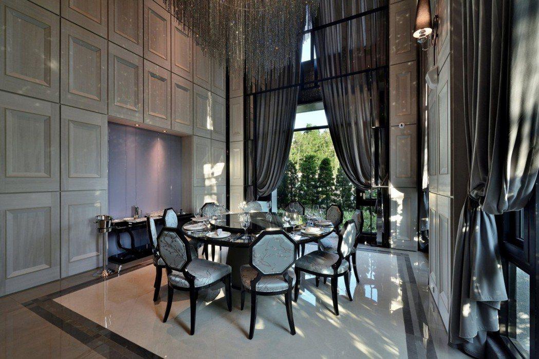 國際五星級宴會廳,流露低調奢華的雍容品味。圖片提供/芳崗澄品