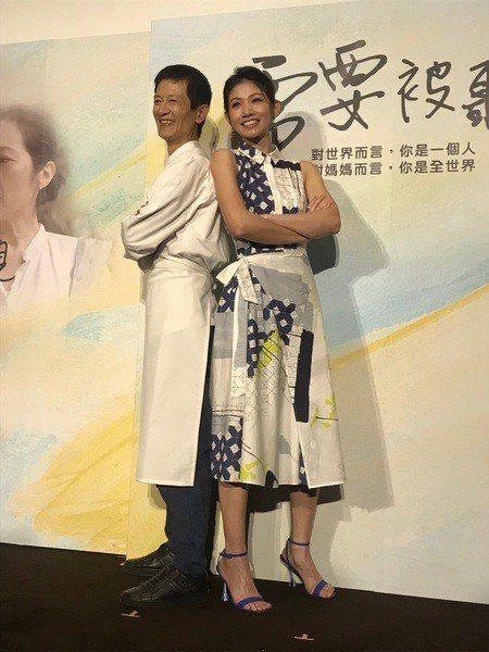 李千那與陳博正攜手演出微電影《需要被聽見》。(photo by 吳婉瑜/台灣醒報