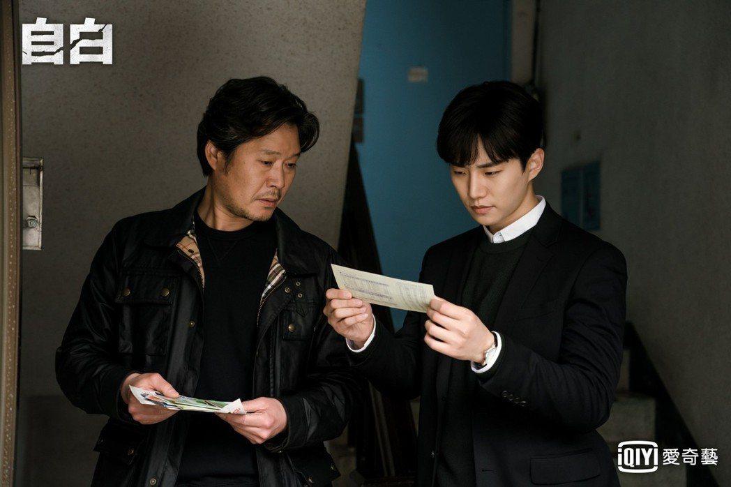 李俊昊(右)、劉在明首度合作。圖/愛奇藝台灣站提供