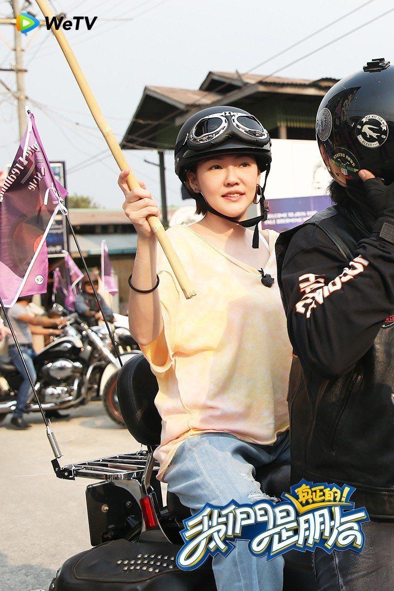 小S錄「我們是真正的朋友」暢遊緬甸。圖/WeTV提供