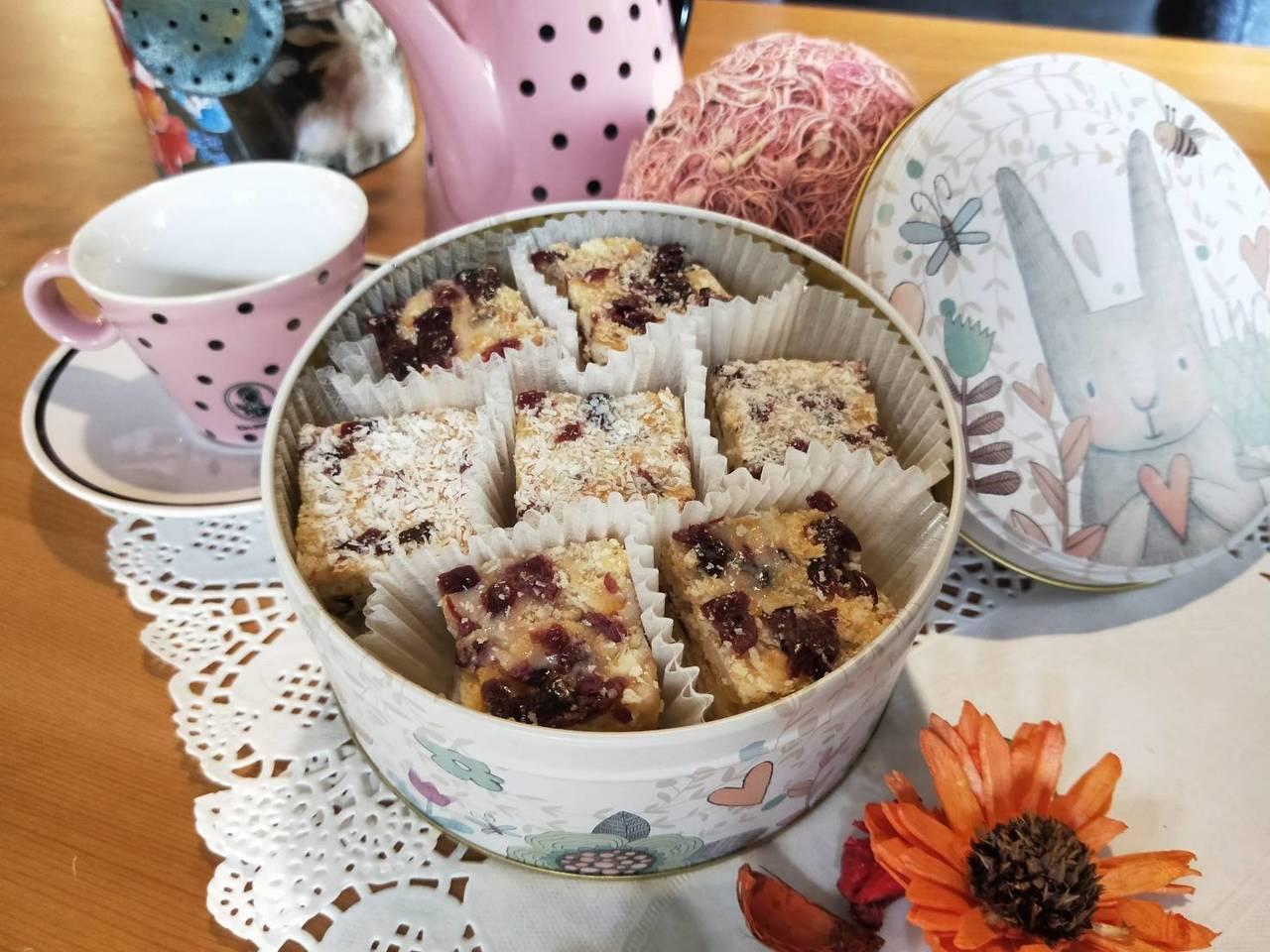 呂芳銘擅長的西式料理,手工綿綿餅也是他的代表作。圖/勞動力發展署桃竹苗分署提供