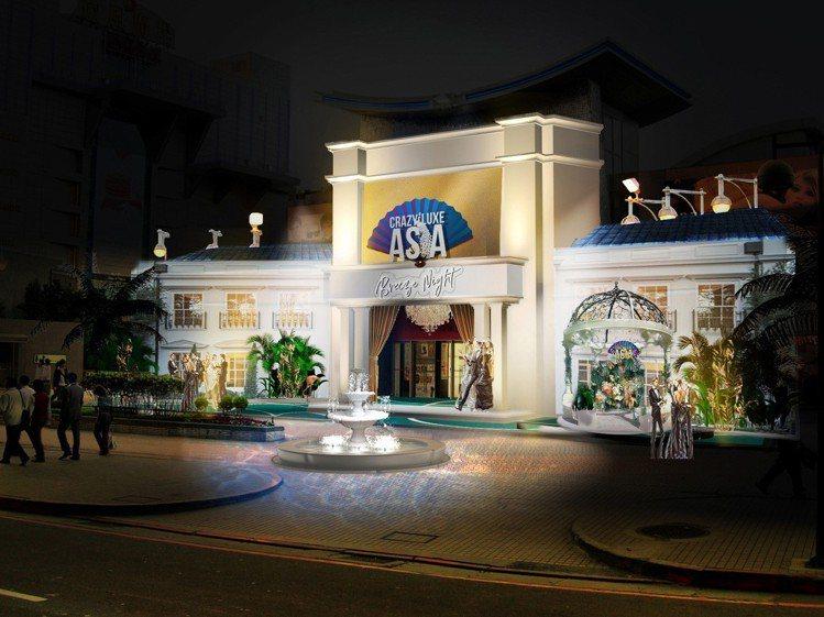 2019微風之夜主題為「亞洲瘋狂購物之夜」。圖/微風提供