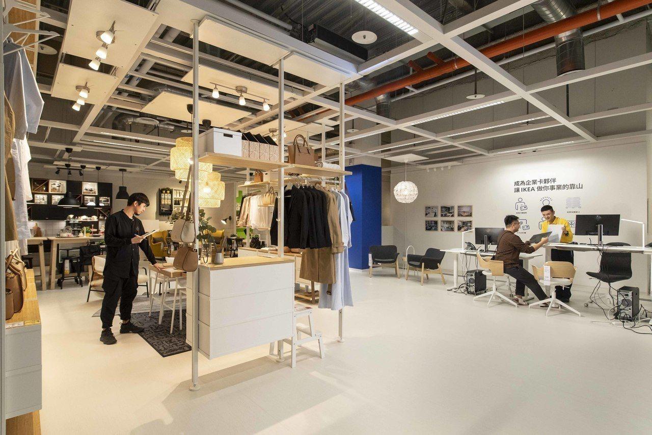 IKEA企業業務(IKEA Business)入口位於捷運通道旁,從開店布置諮詢...