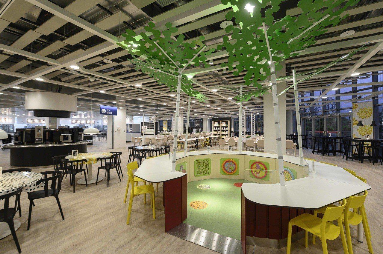 IKEA新店店貼心打造多項親子友善服務,成為溜小孩或假日休閒的好去處。圖/IKE...