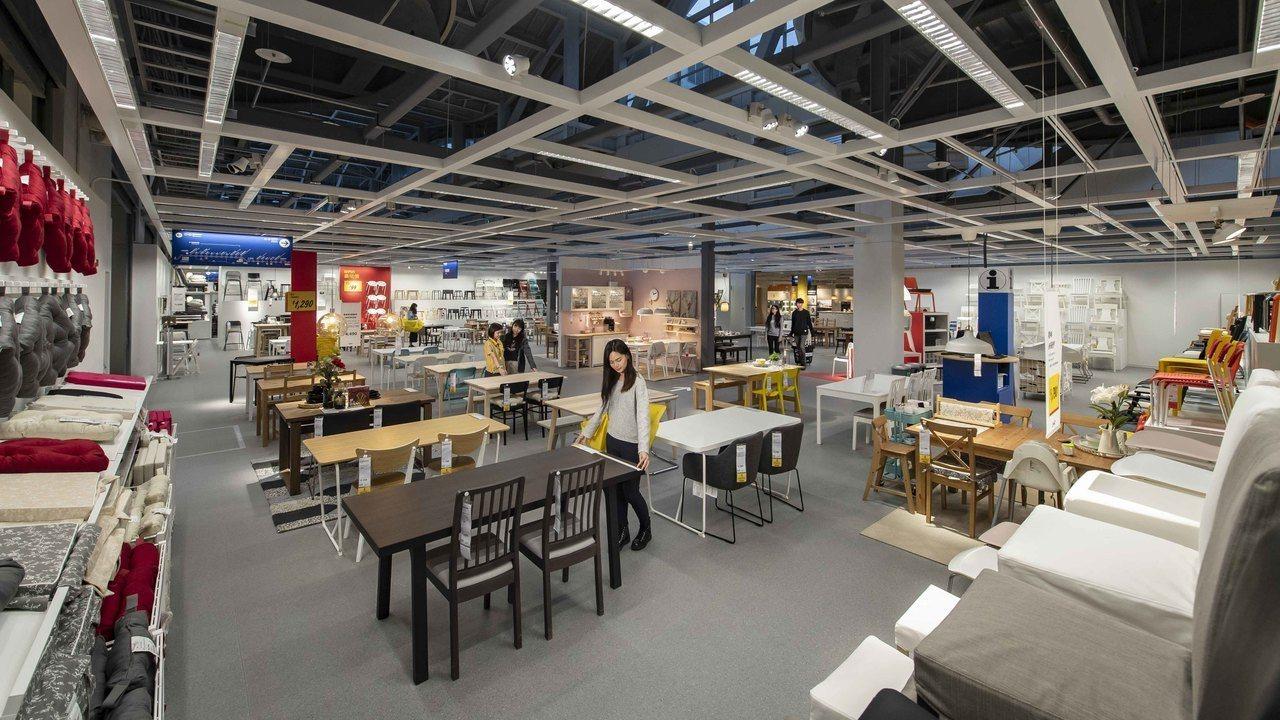 IKEA新店店占地6,600坪,開幕後是北台灣三家IKEA中第二大店,販售近8,...