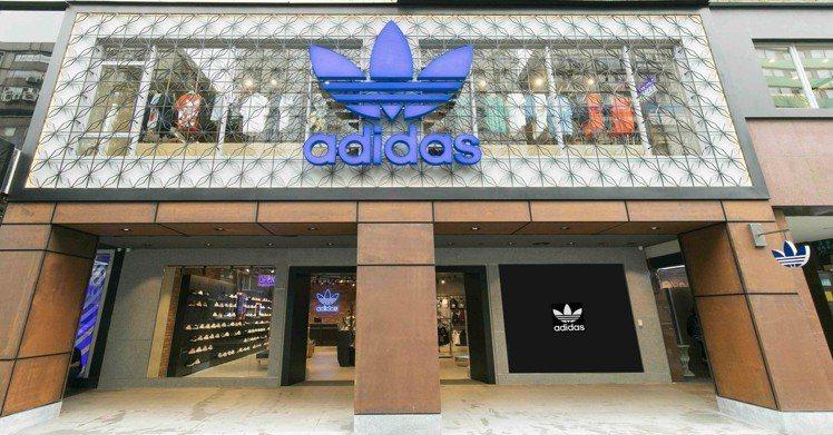 adidas Originals忠孝經典門市擴大經營。圖/adidas提供
