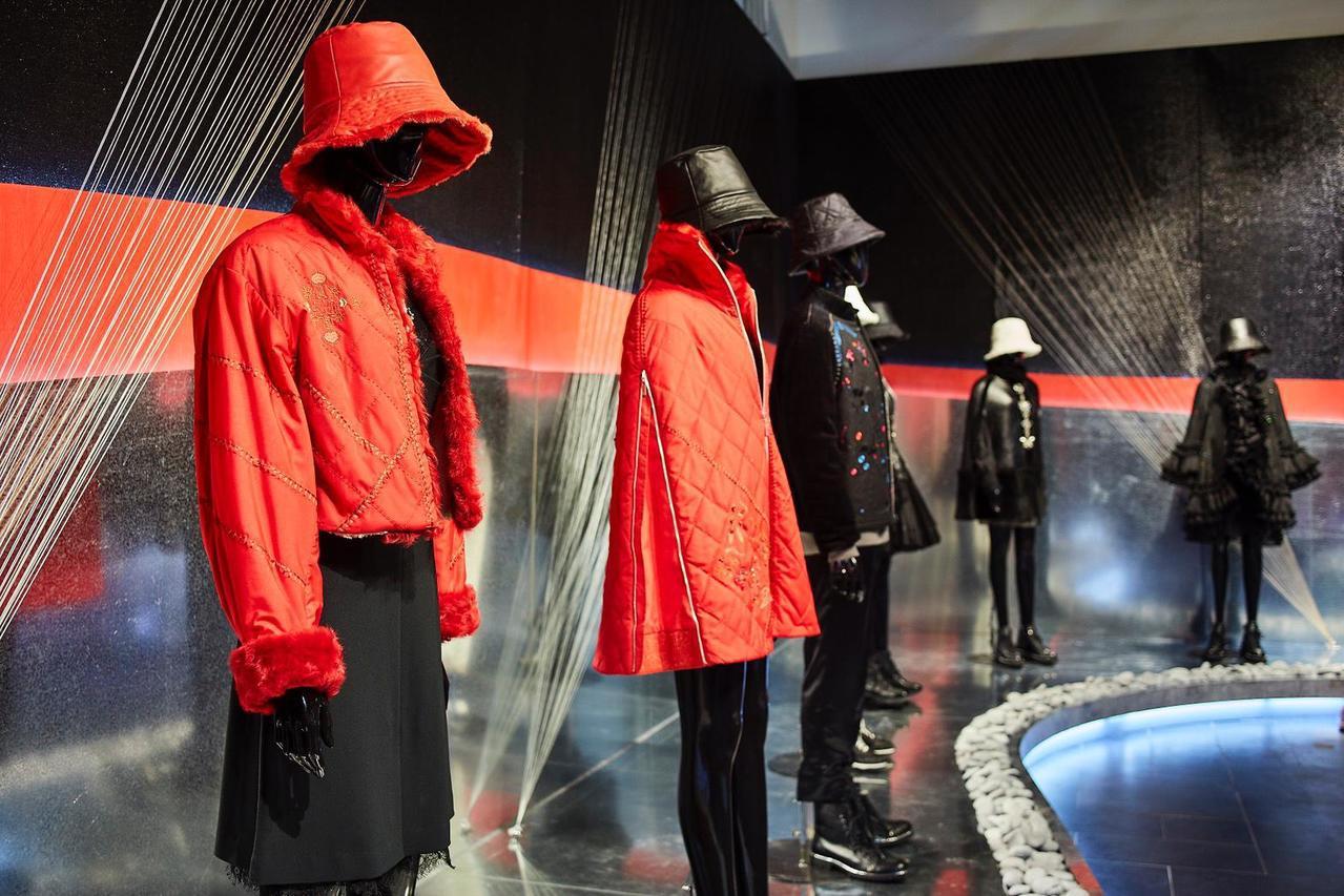 免費入場的「針間絮語」展覽,將展至5月19日止,展場位於台北華山1914文創產業...