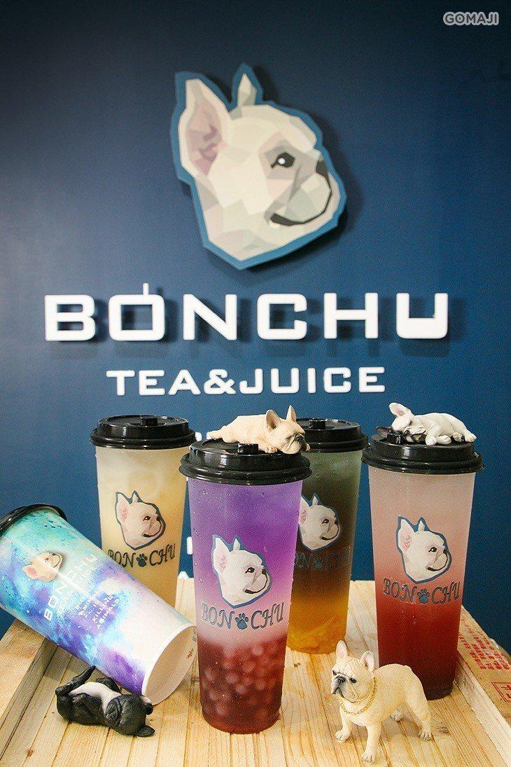 SOGO忠孝館一樓5月13日起至5月28日,BONCHu創意茶飲快閃。圖/SOG...