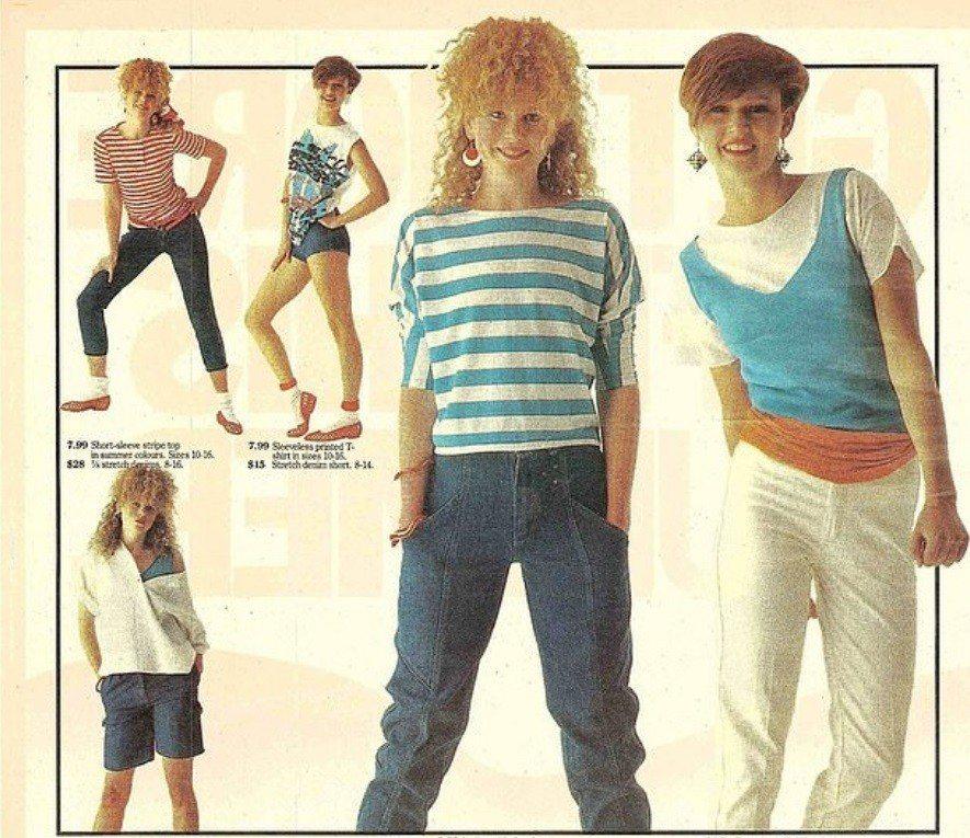 少女時代的妮可基嫚(中)和現在有很大的不同。圖/翻攝自Daily Mail