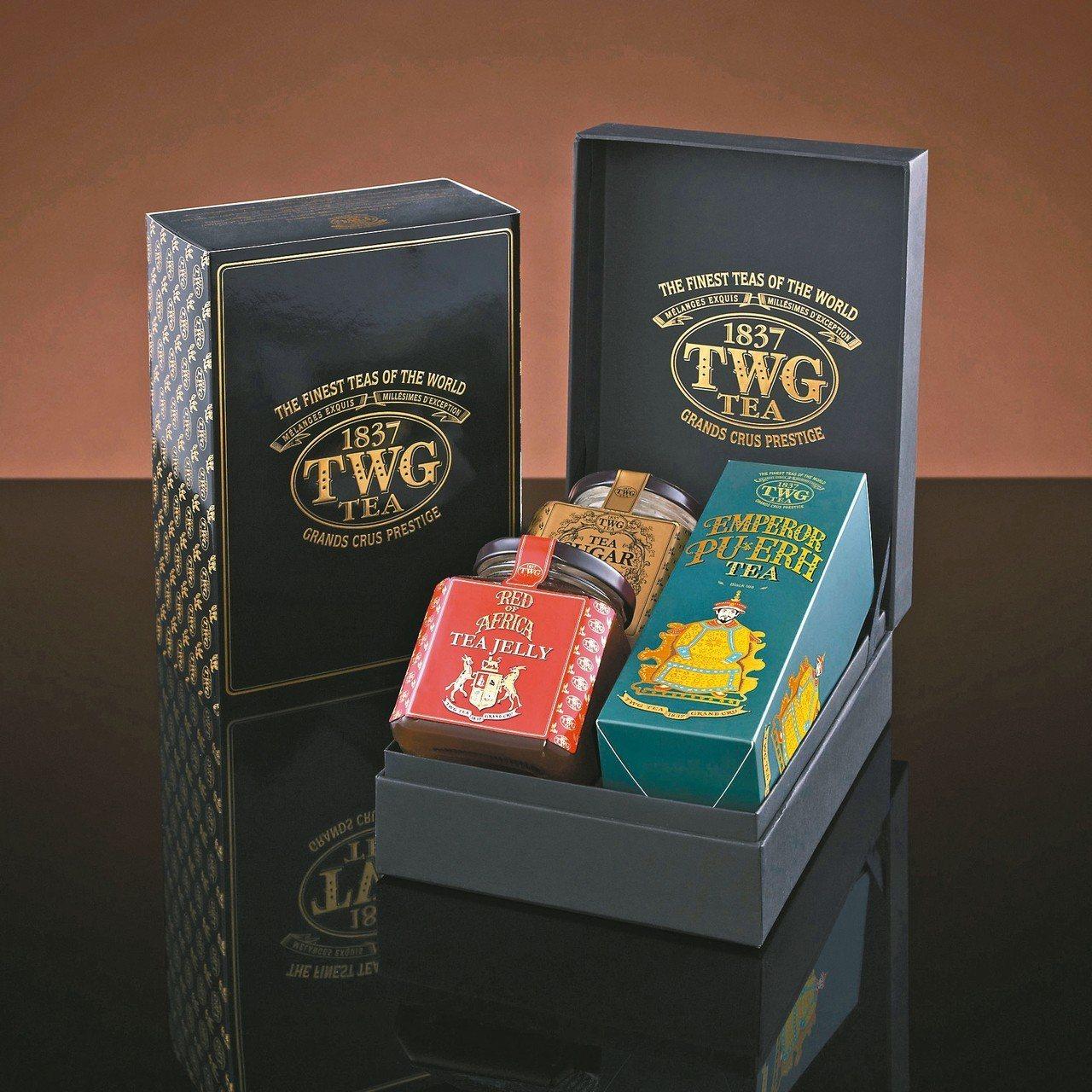 TWG Tea也有端午節禮盒。 圖/TWG Tea提供