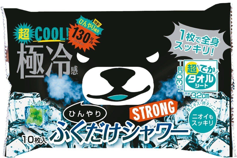 黑熊涼感大片濕紙巾-強效薄荷,售價150元。 圖/康是美提供