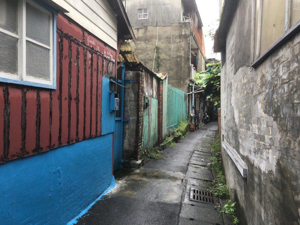 台北市社子島禁建長達半世紀。 圖/聯合報系資料照片