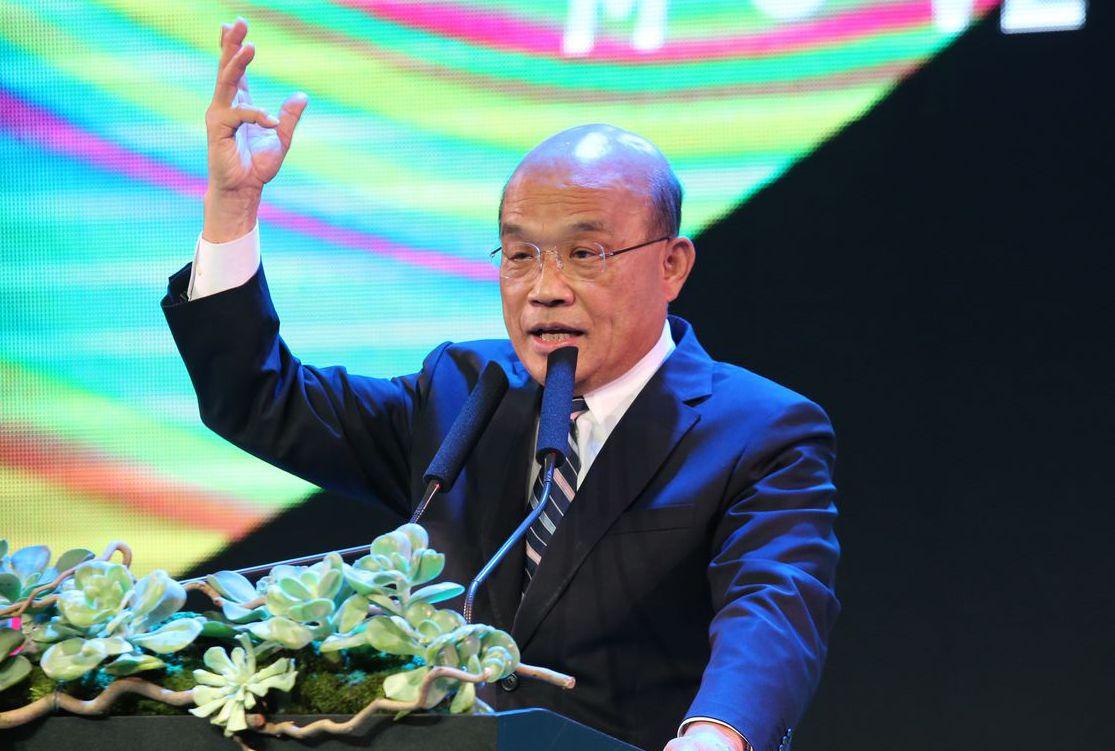 行政院長蘇貞昌表示,離岸風電是國家重大能源政策,為預防離岸風電相關災害發生,應建...