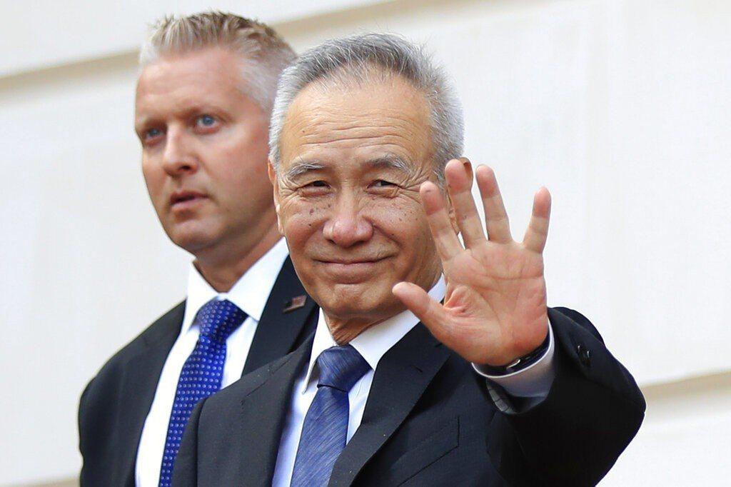 中國大陸國務院副總理劉鶴9日抵達華府,與美方舉行第11輪經貿磋商。 美聯社