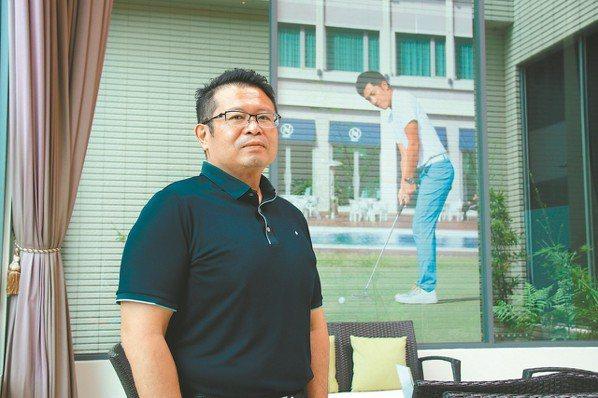 位於苗栗苑裡的全國高爾夫鄉村俱樂部是潘政琮發跡的主場,總經理吳憲紘是幕後重要推手...