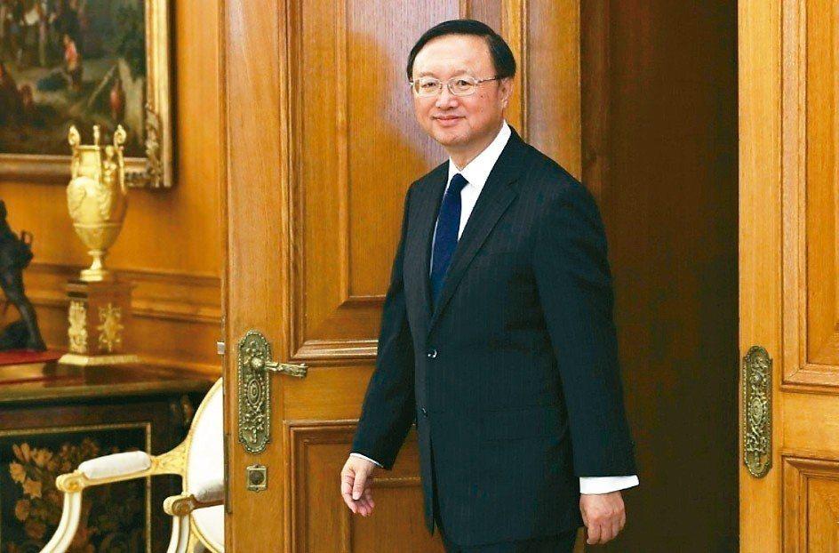 中共中央政治局委員楊潔篪下周訪日。 歐新社