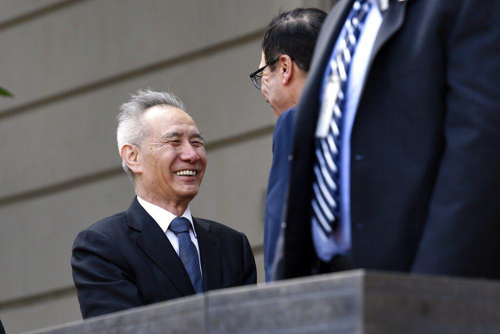 劉鶴與美國共進行了11輪高級別貿易談判,證明中國最高領導對他的信任。 美聯社