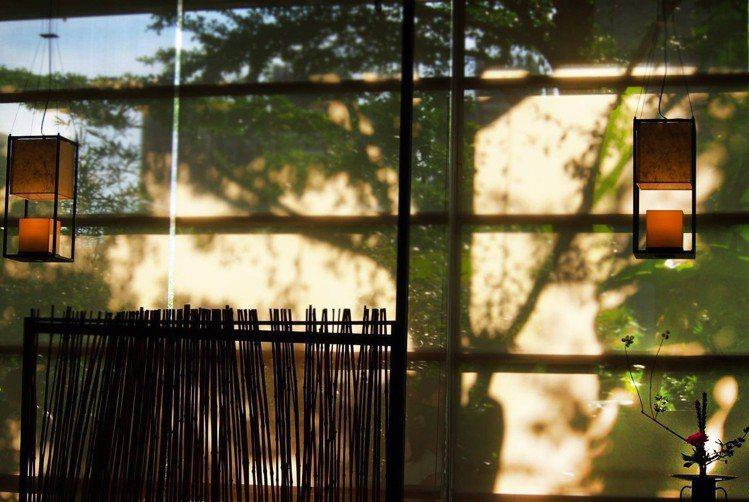 秋山堂環境優美好拍。圖/春水堂 提供