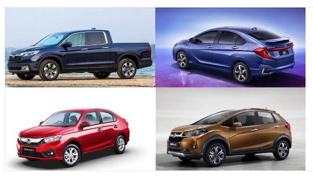 除全球戰略車款,針對各市場Honda也有各式不同專屬車型。未來原廠也將加以整合、...