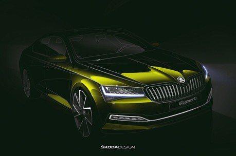 ŠKODA發佈2020改款Superb預告圖 實車本月就會亮相!