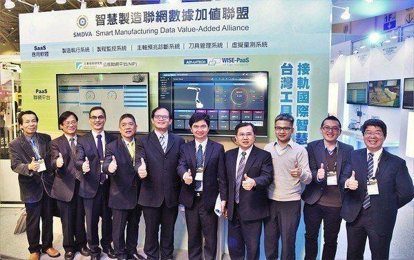 圖4 : 工研院同時攜手各領域主要廠商組成「智慧製造聯網數據加值產業聯盟(SMD...