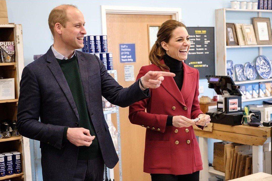 威廉王子與凱特出席公開場合的互動,完全不像在鬧婚變。圖/摘自Instagram