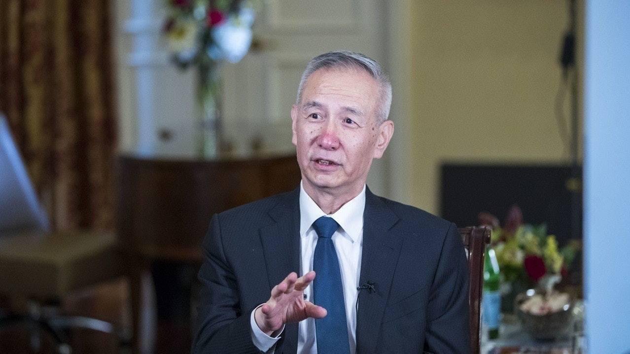 圖為大陸國務院副總理劉鶴。新華社資料照