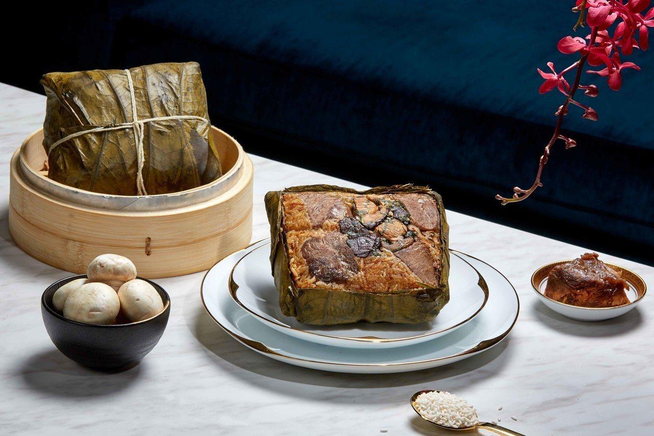 舒肥和牛粽。 圖/台北國賓提供