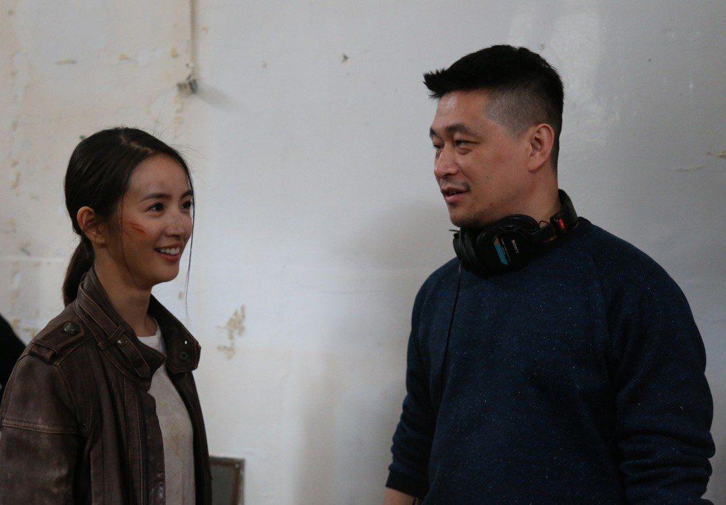 林依晨、導演連奕琦自從「甜蜜殺機」之後再度合作。圖/台北電影節提供