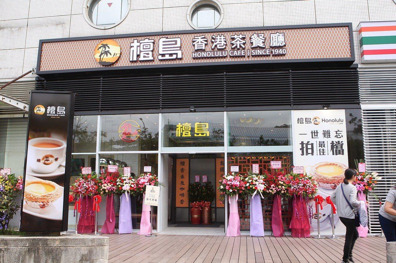 檀島咖啡劍南旗艦店自5月10日正式開幕。記者陳睿中/攝影