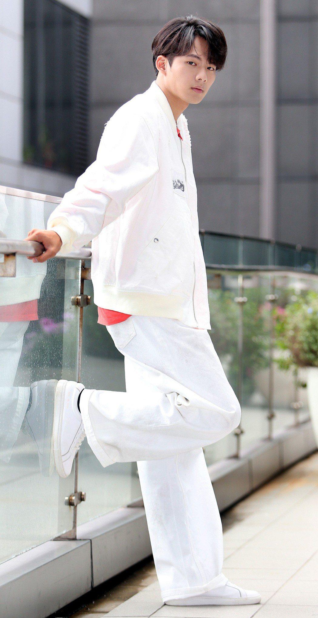 「月村歡迎你」男主角吳念軒。記者侯永全/攝影