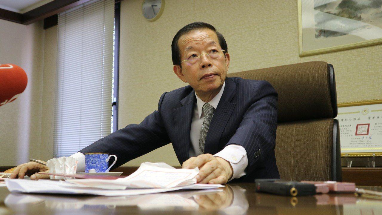 駐日代表謝長廷。聯合報系資料照片/東京記者蔡佩芳攝影