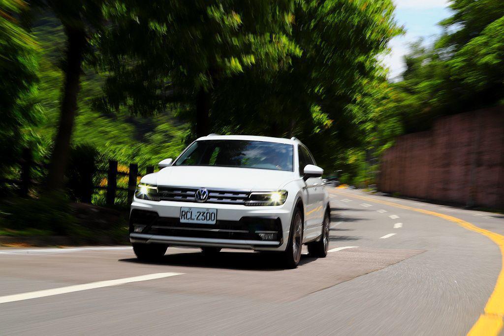 福斯Tiguan 380 TSI R-Line Performance在強勁馬力...