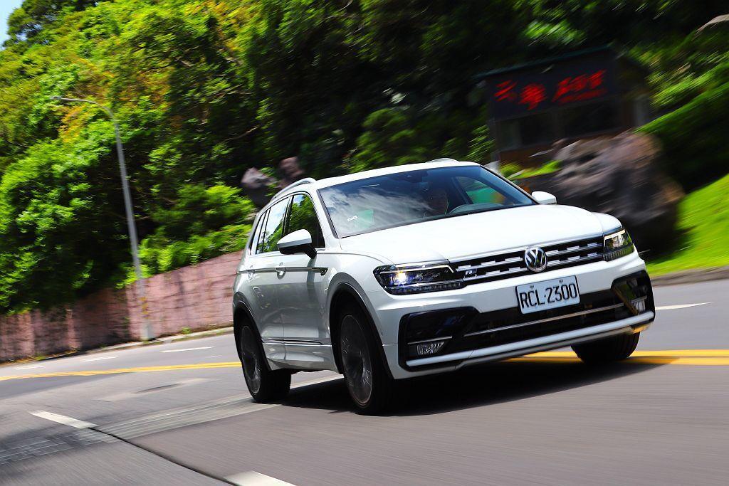厭倦節能?那就來點性能吧!福斯Tiguan R-Line Performance安全點妝後更超值