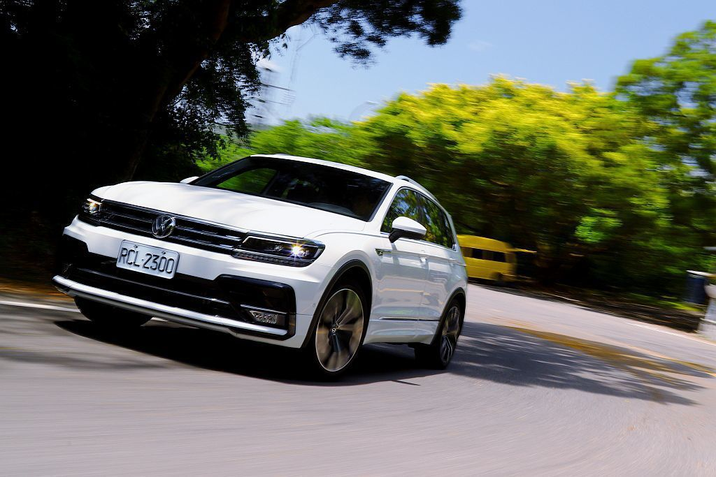 Volkswagen Tiguan是品牌最暢銷的休旅車。圖為Volkswagen...