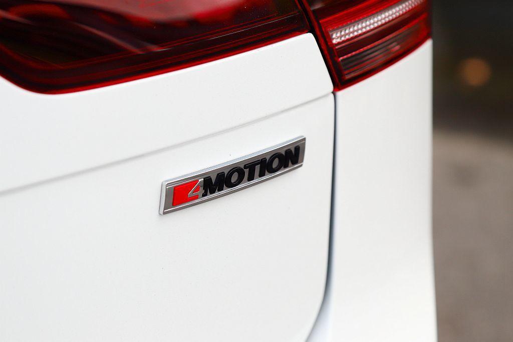臺灣銷售的新年式福斯Tiguan全車型,都將4MOTION四驅系統列為標配。 記...
