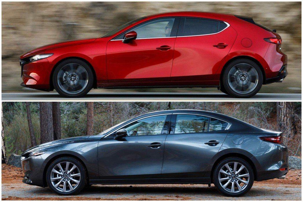 台灣馬自達在9日宣佈了新世代Mazda3的正式售價,四門版自79.9萬元起跳,五...