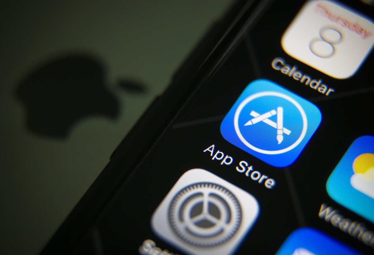 五月初,蘋果突然無預警全面調整iOS應用程式商店的價格,漲幅達10%。歐新社資料...