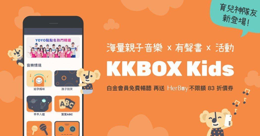 即日起白金或KKBOX Prime會員下載後連結帳號,即可直接於KKBOX Ki...