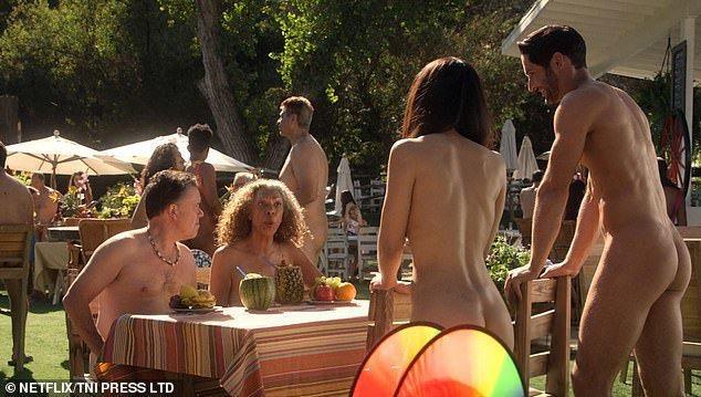 「魔鬼神探」一轉往Netflix,湯姆艾利斯(右)與其他演員就有全裸的鏡頭。圖/...