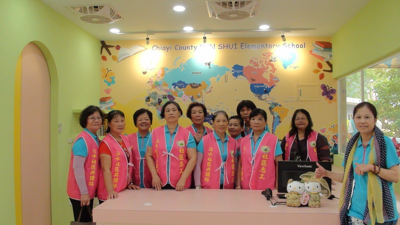 婆婆媽媽志工的力量 小學圖書館假日開放社區共讀 | 聯合新聞網
